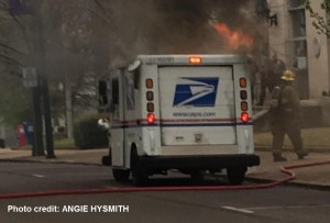 Mail truck fire 2 CREDIT