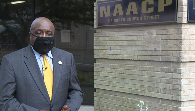 Local NAACP leader reacts to death of George Floyd