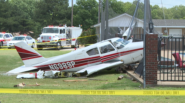 Plane crashes onto Humboldt golf course