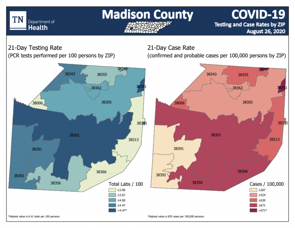 Madison County Numbers