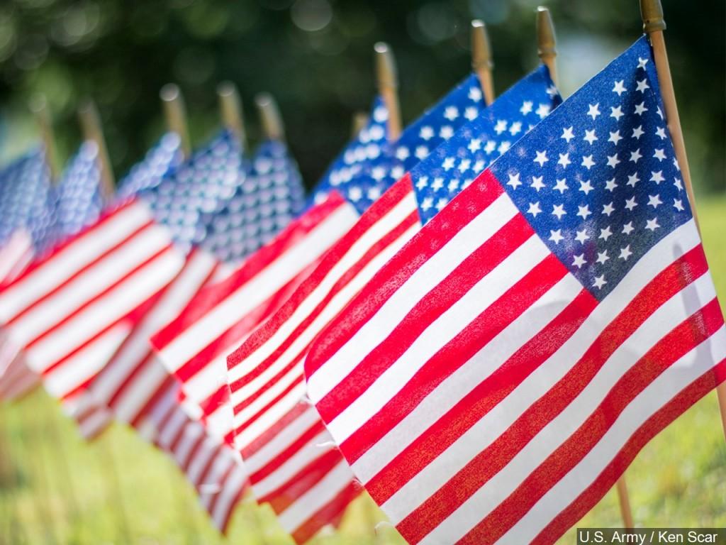 Flags Us Flag