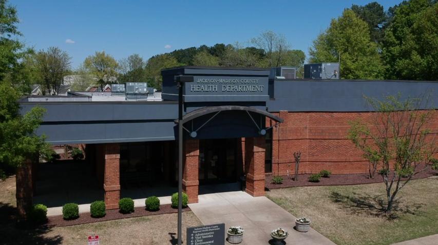 Jackson Madison County Regional Health Department Aerial