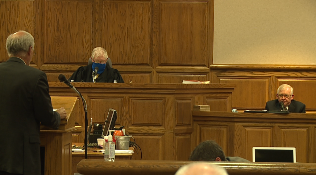 Day 2 of trial examines report on Madison Co. Sheriff's Department