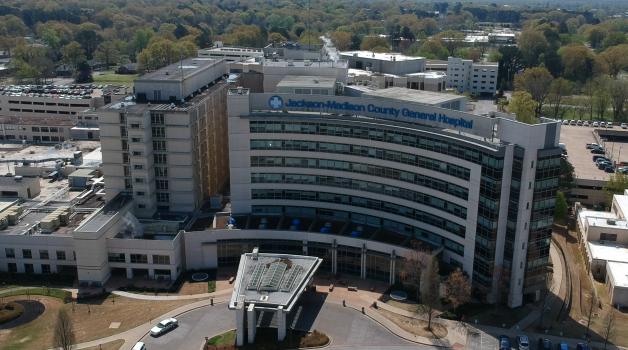 Jackson Madison County General Hospital Aerial Jmcgh