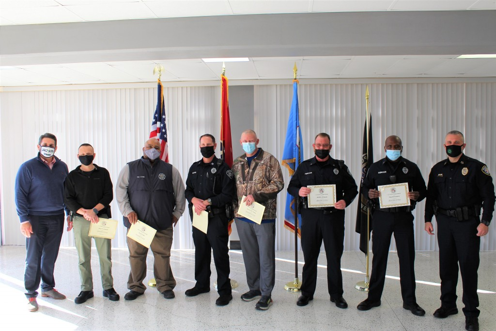 Six Jpd Employees Honored For Their Years Of Service
