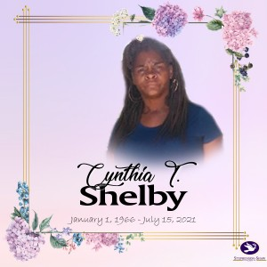 Cynthia T Shelby Fb Announcement