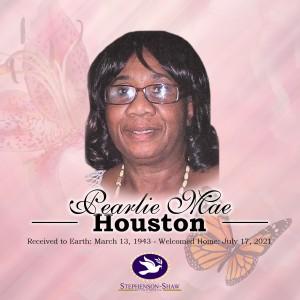 Pearlie Houston Fb Announcement