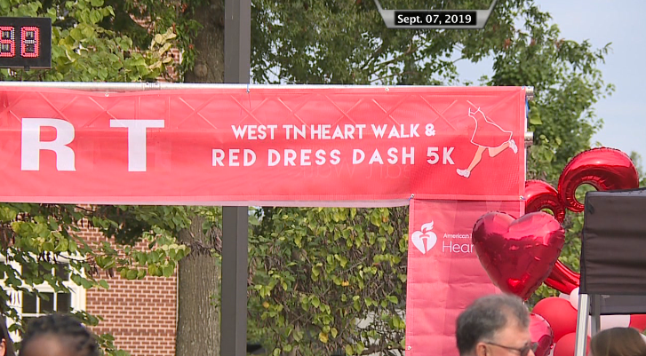 West Tennessee Heart Walk And Red Dress Dash 5k
